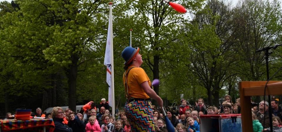 kindertheater kiko – kindervoorstelling met interactief jongleren