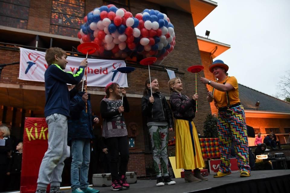 Kindertheater Kiko kindervoorstelling met veel interactie met de kinderen in het publiek