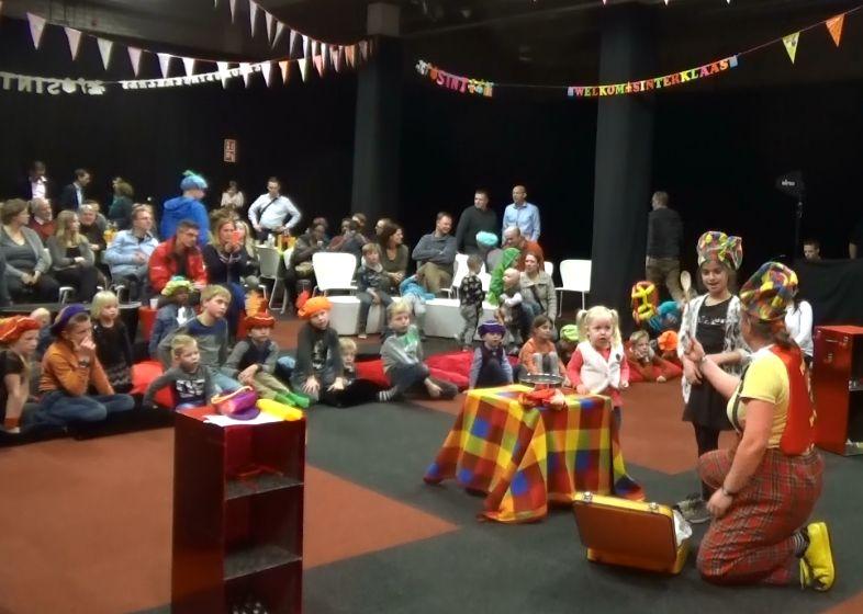 Sinterklaas voorprogramma Voorstelling - Kindertheater Kiko