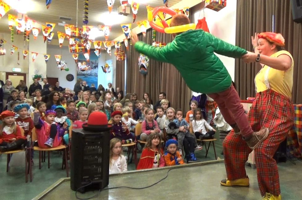 Sinterklaas voorprogramma Voorstelling - Kindertheater Kiko in het oude weeshuis in Nijmegen