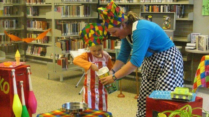 Kindertheater Kiko kindervoorstelling in de soep