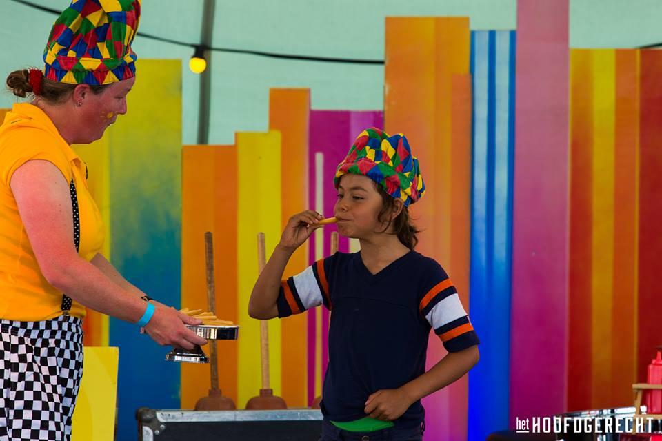 """Kinderthetaer Kiko voorstelling """"In de soep"""" op festival het Hoofdgerecht is Amsterdam"""""""