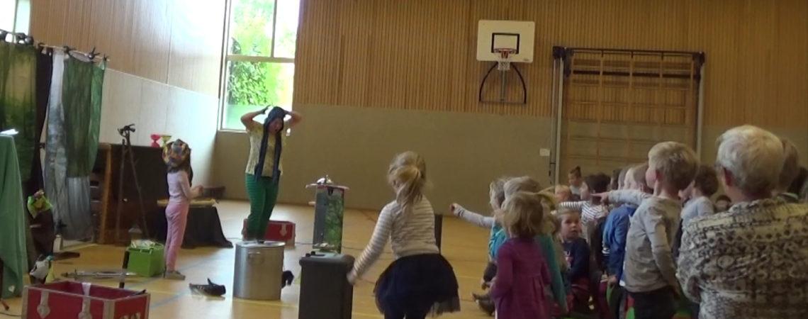 Kindertheater Kiko voorstelling het griezelbos