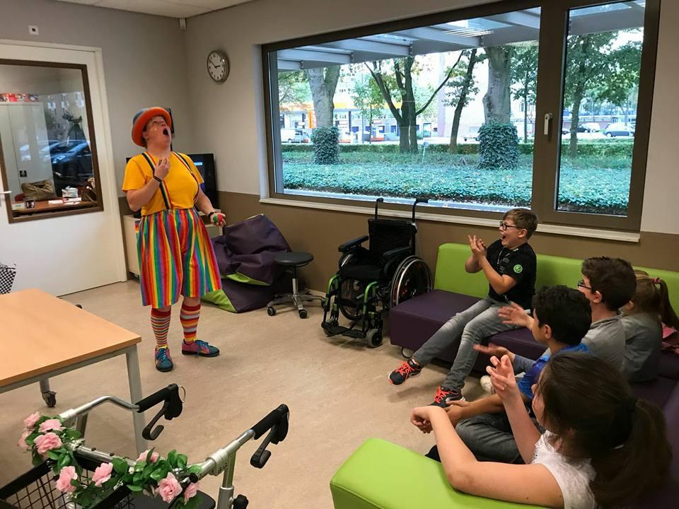 Kindertheater Kiko - voorstelling Clown Kiko - speciaal circus voor speciale mensen