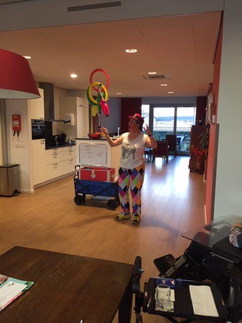 Circustheater Kiko - voorstelling Clown Kiko - speciaal circus voor speciale mensen