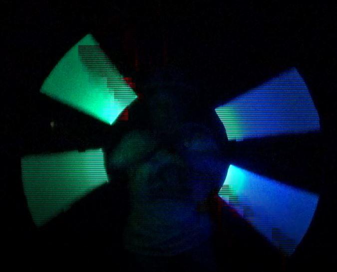 Kiko Licht jongleer show - staff spinning LED licht