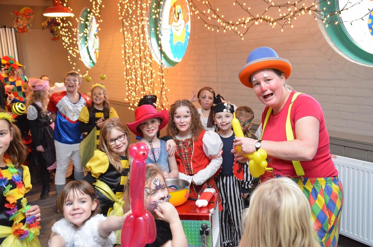 Carnaval met Clown Kiko