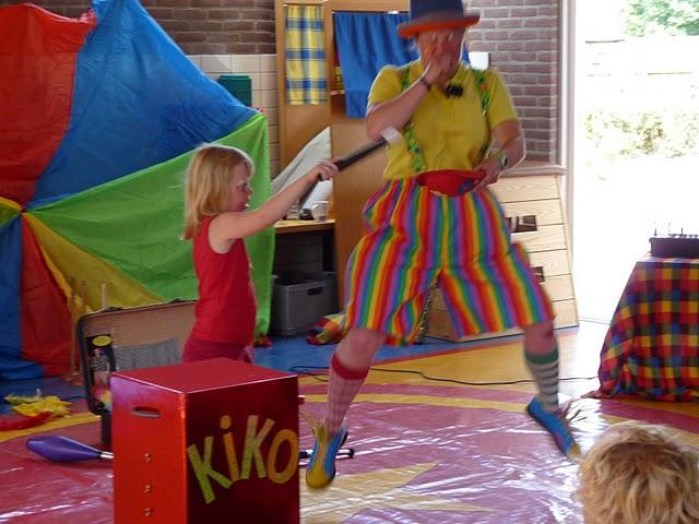 Kindertheater Kiko kleutervoorstelling door Clown KIKO