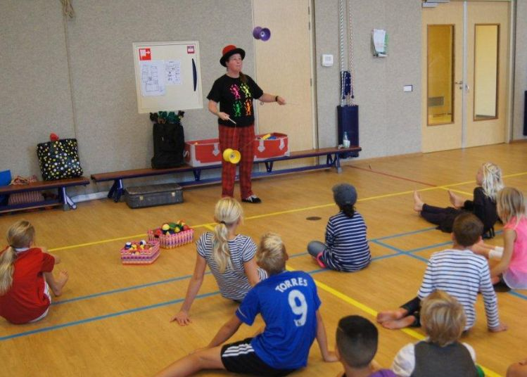Workshop diabolo - circus kiko