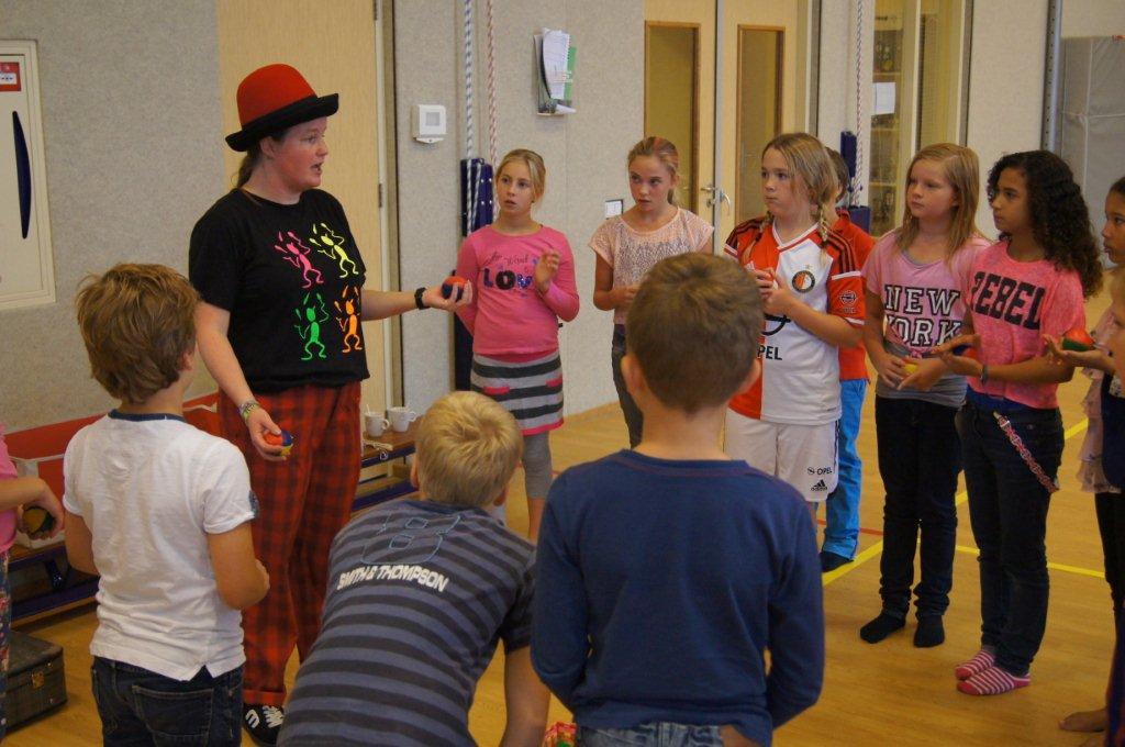 workshop jongleren - Circus Kiko